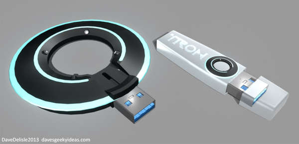 Tron Flash Drives