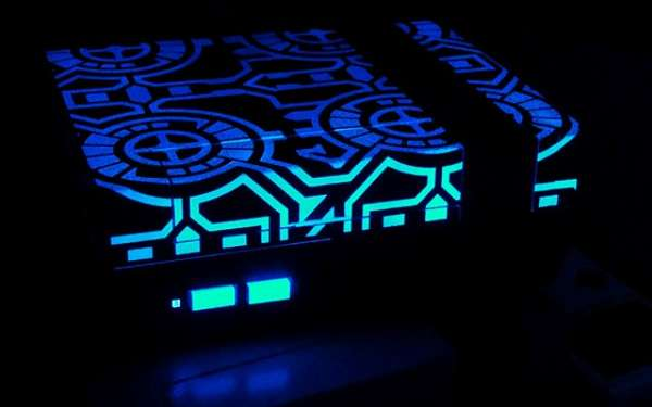 Glow-in-the-Dark Gaming Consoles
