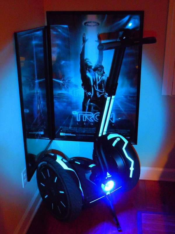 Nerdy 3D Movie Scooters
