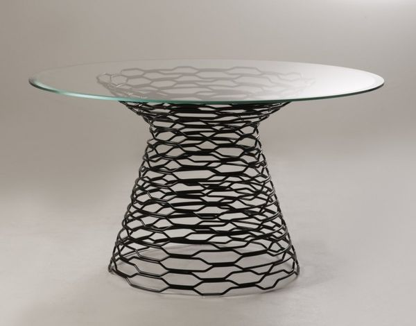 Futuristic Fishnet Furnishings