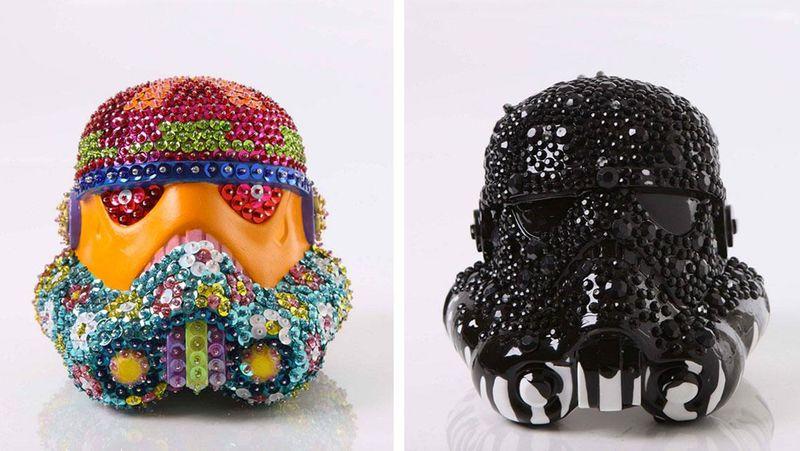 Reinterpreted Space Wars Helmets