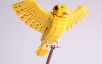 Avian LEGO Sculptures