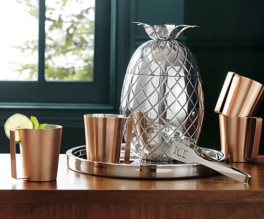 Pineapple-Shaped Ice Buckets