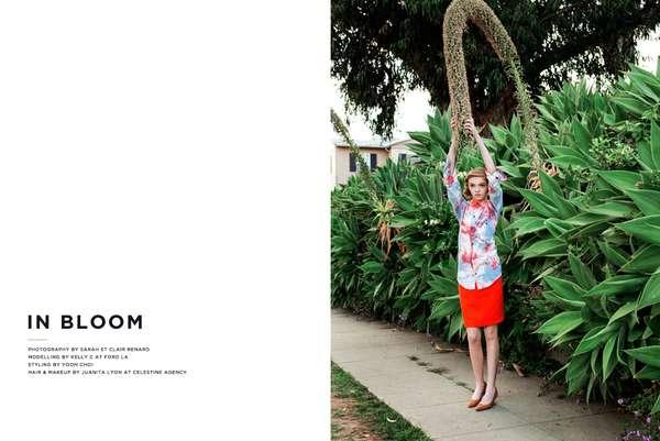 Tropical Floral Fashion