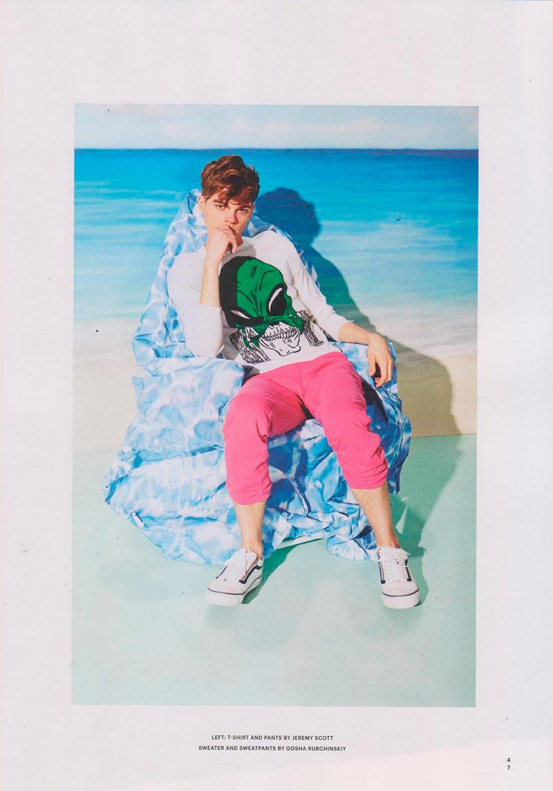 Tropical Menswear Editorials