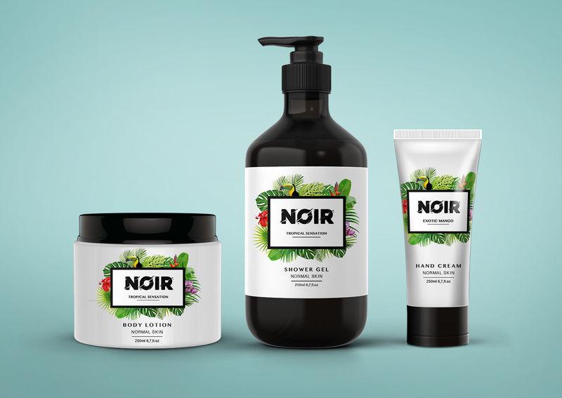 Tropical Skincare Branding