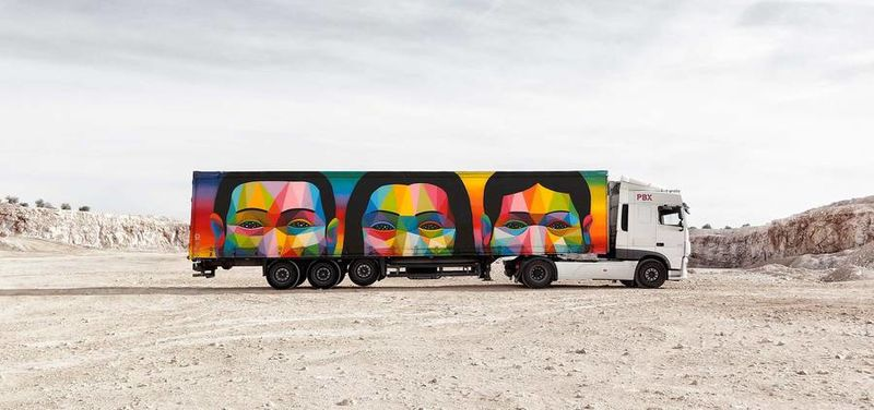 Mobile Art Exhibits