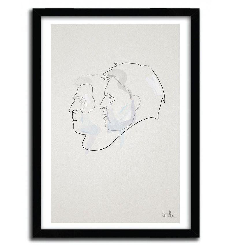 Linear Detective Portraits