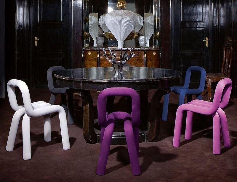 Bent Tubular Chairs