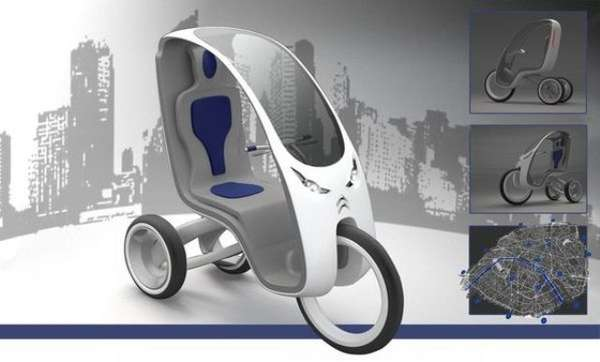 Eco-Friendly Tourist Trikes