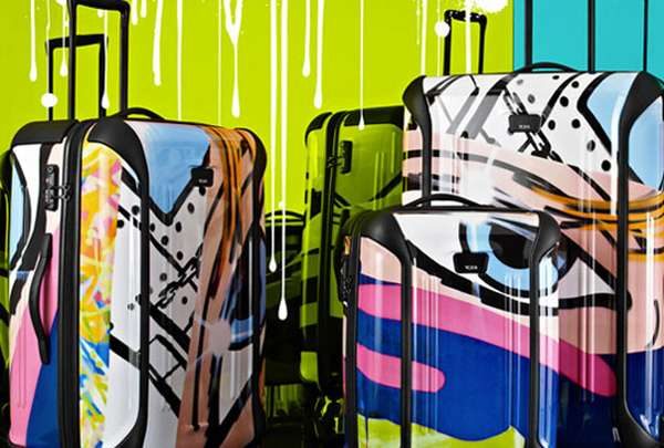 Graffiti-Inspired Luggage