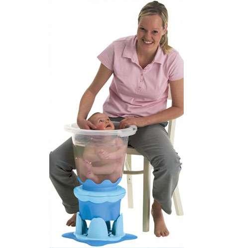 Womb-Like Baby Bath