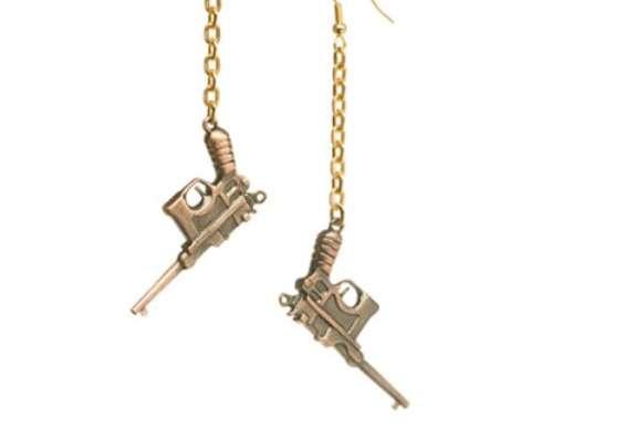 Gangster Earrings