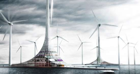 Turbine-Powered Seascapes
