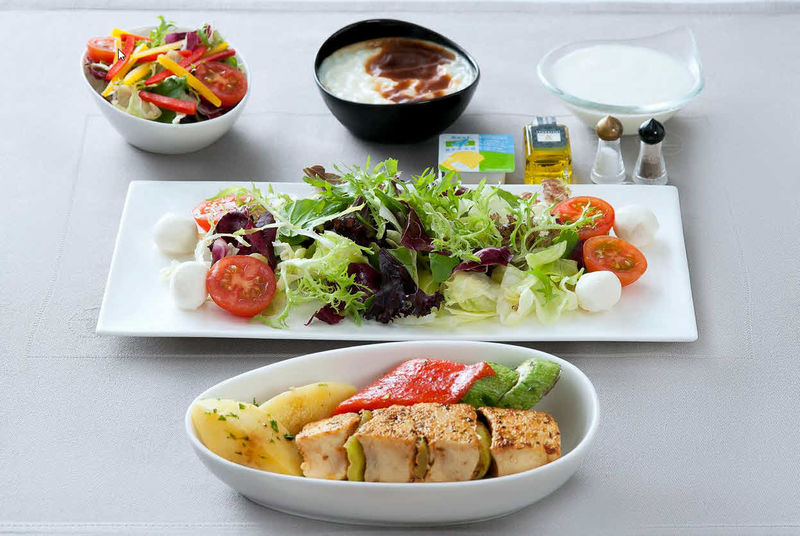 Healthy Airline Meals