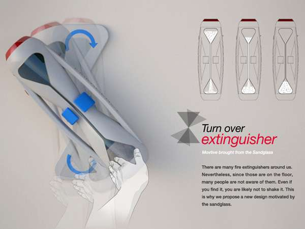 Hourglass Fire Extinguishers
