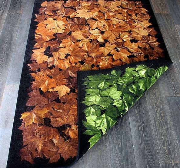 Leafy Floor Mats