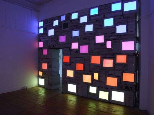 Recycled Monitor Masterpieces