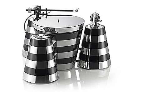Zebra-Striped Turntables