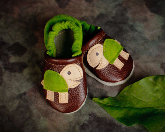 Adorably Shelled Booties