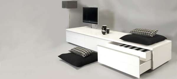 mechanical media shelves tv lift flatscreen low board design. Black Bedroom Furniture Sets. Home Design Ideas