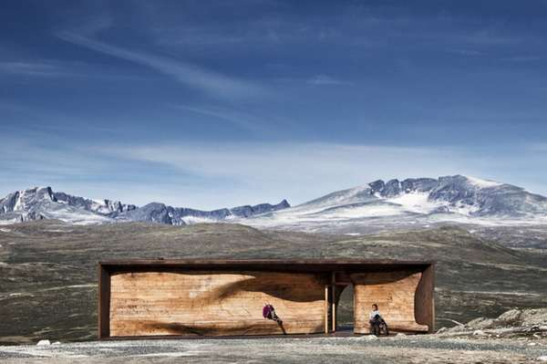 Mountain-Inspired Observation Centers