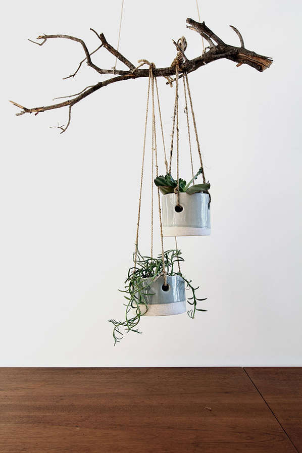 Hanging Twine Planters