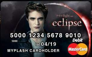 Twilight Mastercards