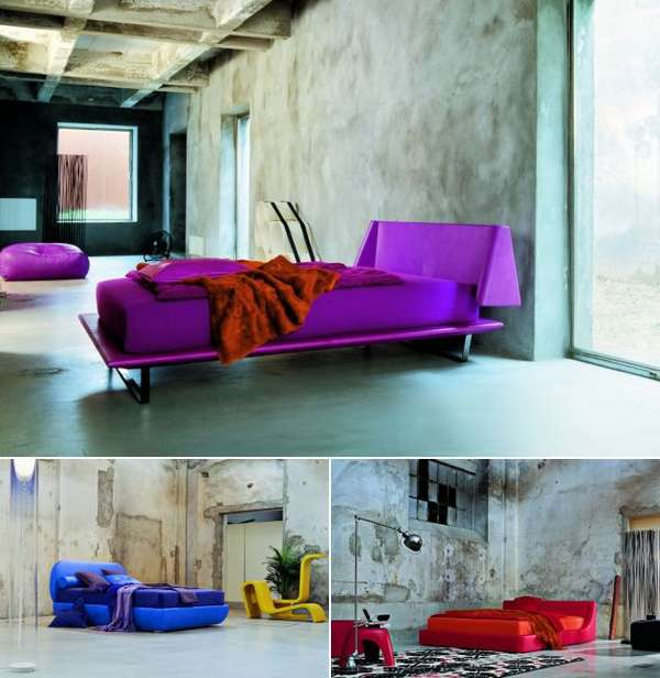 Vibrant Contemporary Beds