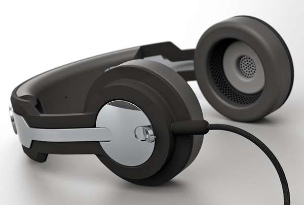 Twin Headphones by Roel Deden