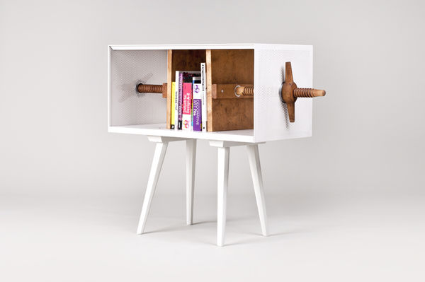 Quirky Clamped Cubbies
