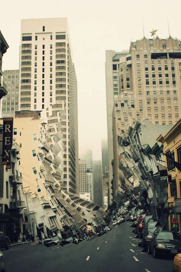 Distorted Architecture Captures