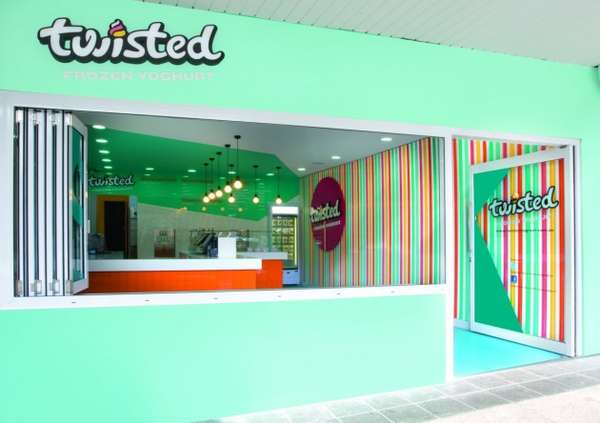 Twisted Frozen Yoghurt