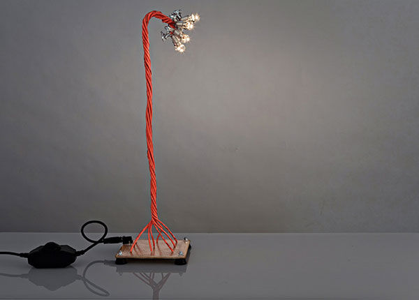 Twisted Table Lamps