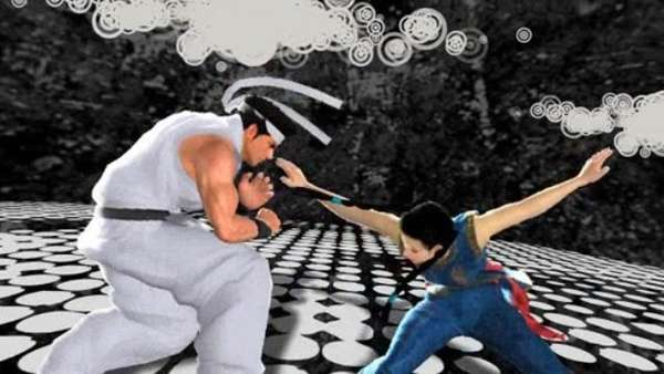 Twitter-enabled Virtua Fighter