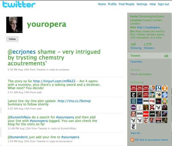 Crowdsourced Operas