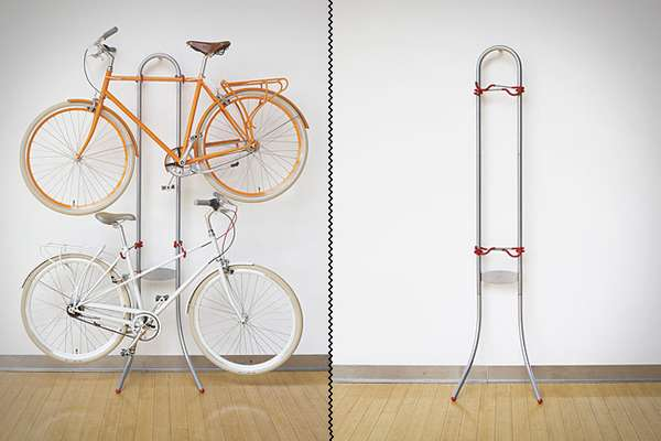 Non-Invasive Cycle Racks