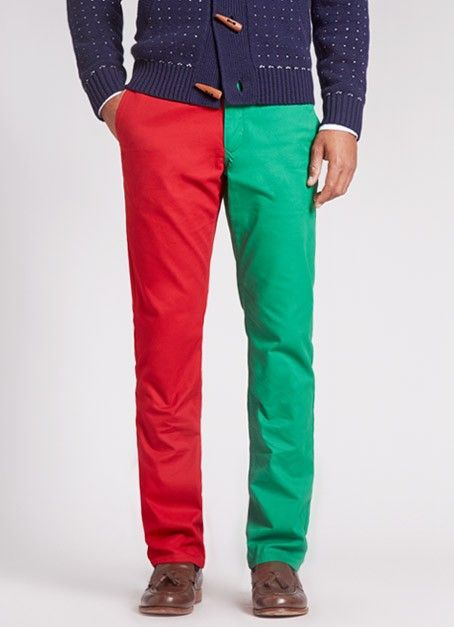 Duo Hue Holiday Pants