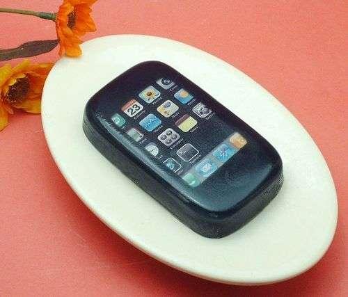 Sudsy Smartphone Scrubbers
