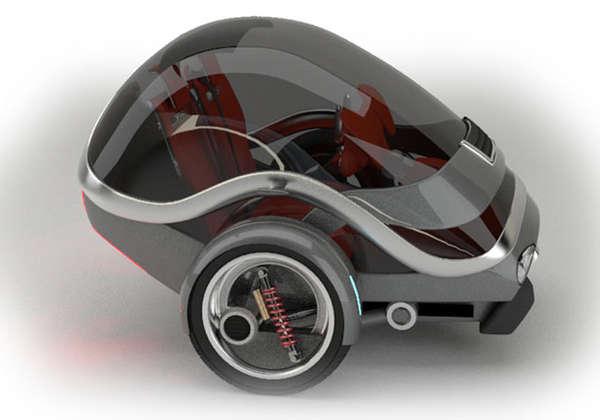 Nimble Capsular Concept Cars