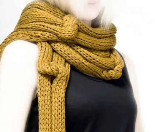 Skin-Healing Scarves