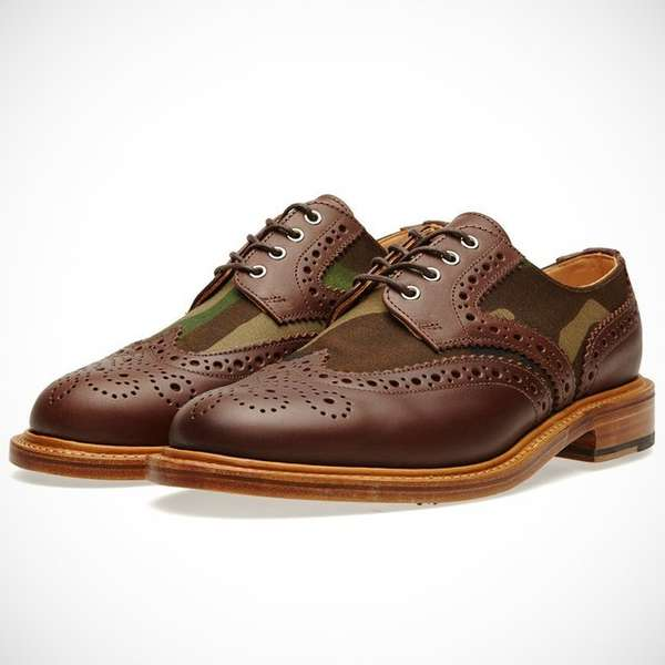 Classic Army-Inspired Brogues