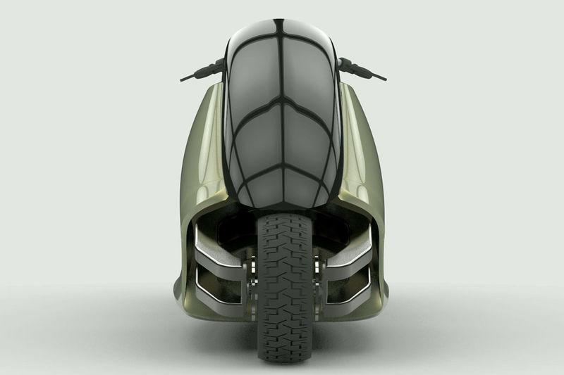 Self-Balancing Motorcycles