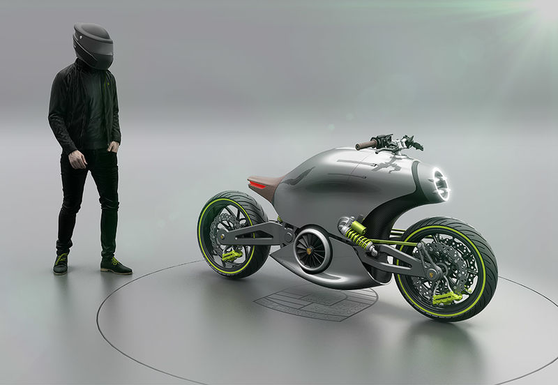 Sports Car-Inspired Motorcycles