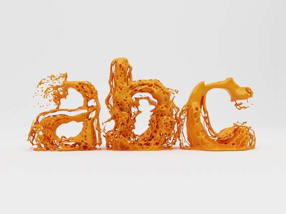 Liquid Typography