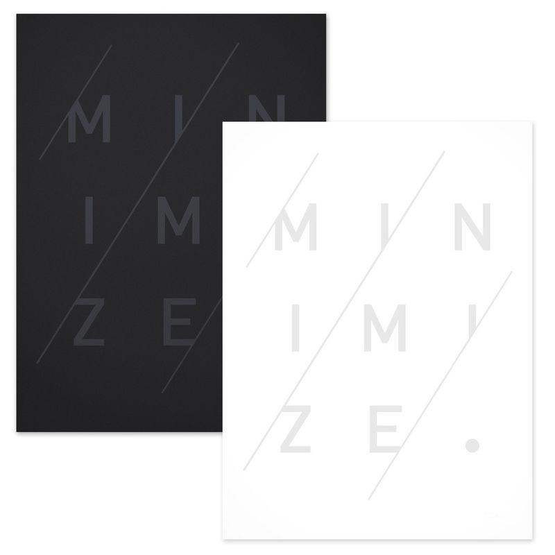 Graphic Minimalism Posters