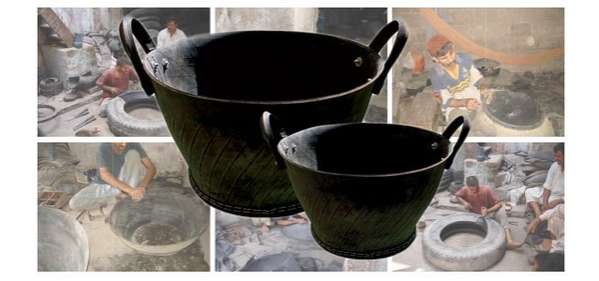 Upcycled-Auto Pottery
