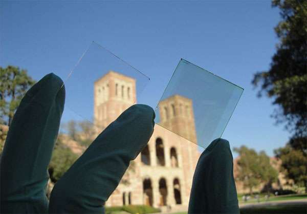 UCLA Transparent Solar Cells