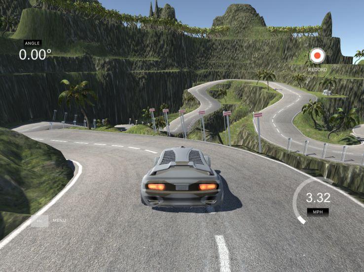 Virtual Autonomous Vehicle Simulations