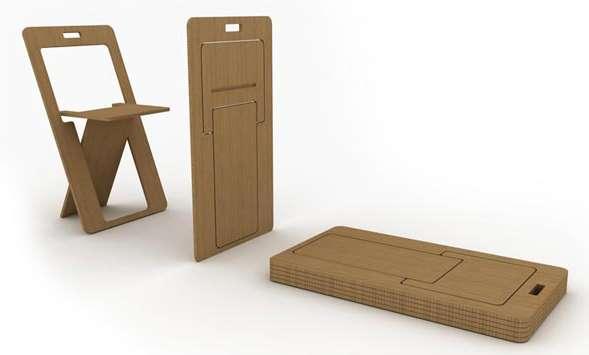 Fold-Flat Chairs
